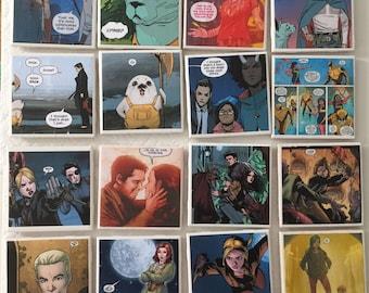 Custom Comic Book Coasters (Set of 4)