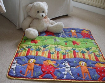 Handcrafted  Animal Playmat