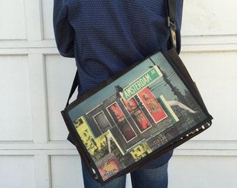 Student - Amsterdam Print - Benga Rabbit - Messenger Bag
