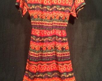 Vintage 80s Dress with FREE belt!