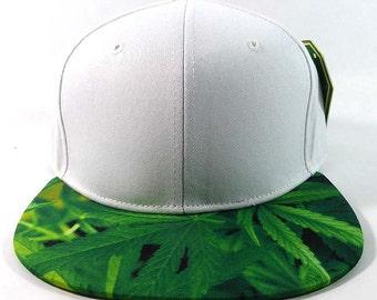 Pot Leaf Strapback