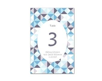 Table numbers Printable table numbers Table numbers for wedding Table number download Wedding decorations Instant download wedding T7