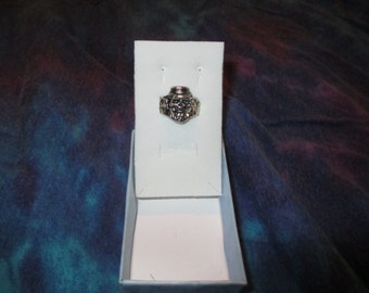 Silver Scull Ring