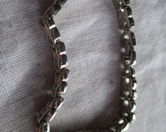 Silver And Gold Braclet