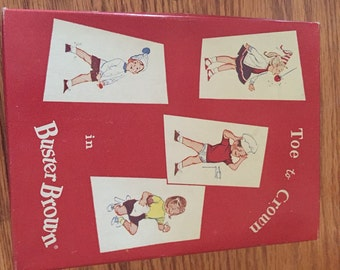 Buster Brown Vintage Box - Great for Display