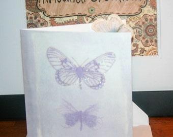 Butterfly Away Card