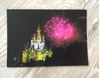 Cinderella's Castle Postcard