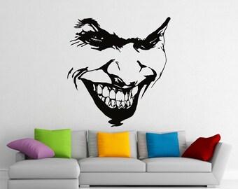 Joker Decal Etsy Ca