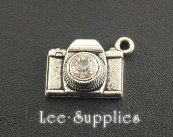 10pcs Antique Silver Bronze Alloy Metal Camera Charms Pendant A234/A240