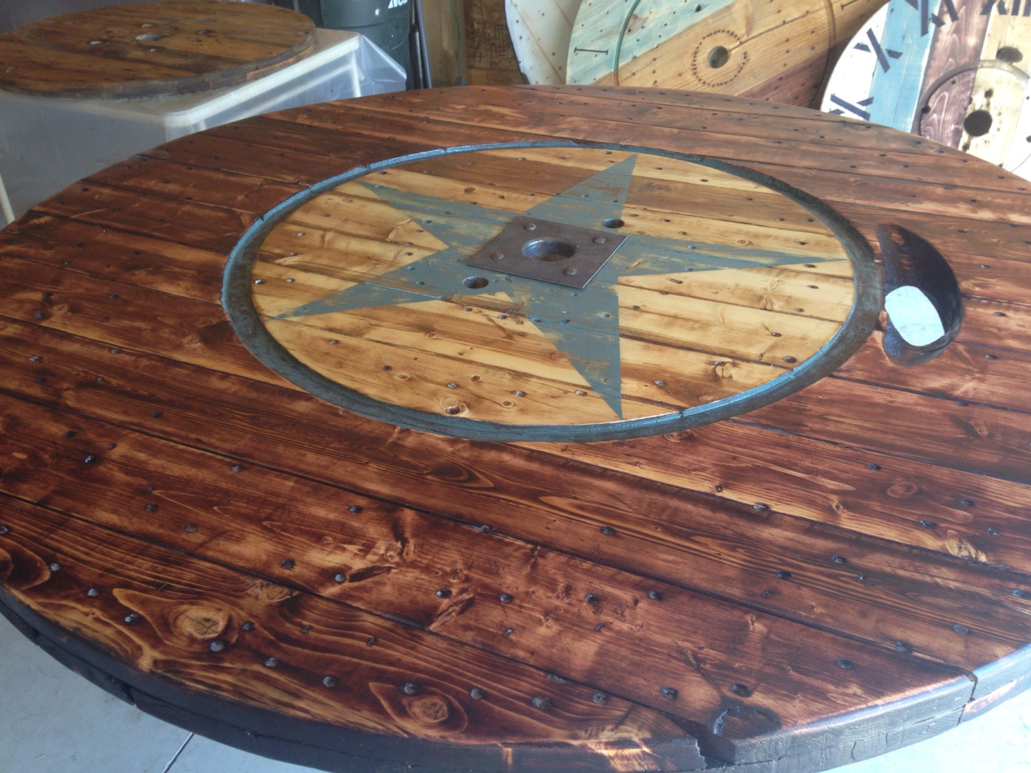 Wire spool table for Cable reel table