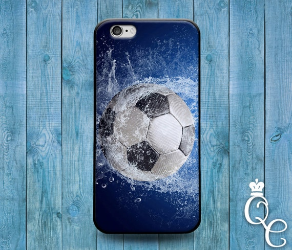 iPhone 4 4s 5 5s 5c SE 6 6s 7 plus iPod Touch 4th 5th 6th Generation Water Splash Wet Soccer Ball Cool Phone Cover Cute Futbol Sport Case