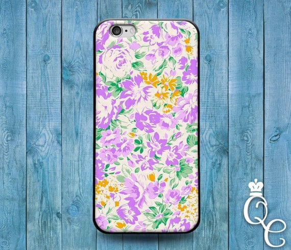 iPhone 4 4s 5 5s 5c SE 6 6s 7 plus iPod Touch 4th 5th 6th Gen Cool Cute Floral Flower Pattern Phone Cover Pink White Yellow Floral Case