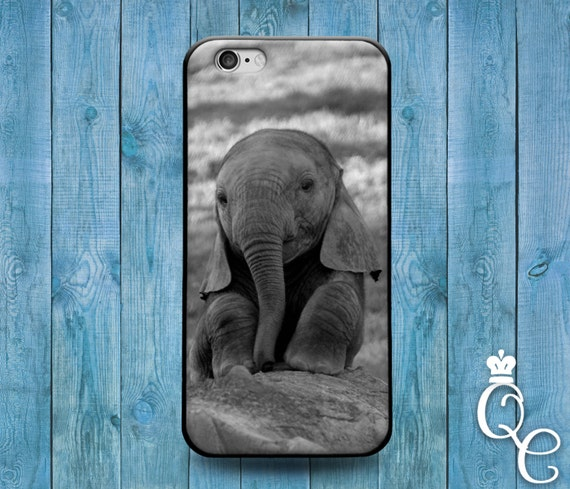 iPhone 4 4s 5 5s 5c SE 6 6s 7 Plus iPod Touch 4th 5th 6th Gen Cute Baby African Africa India Indian Asian Asia Elephant Animal Case Cover