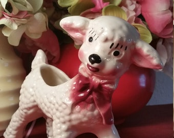 1950s Little Lamb Planter
