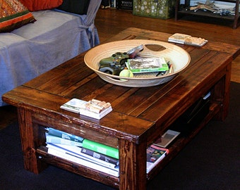 Rustic/Antique-style Coffee Table