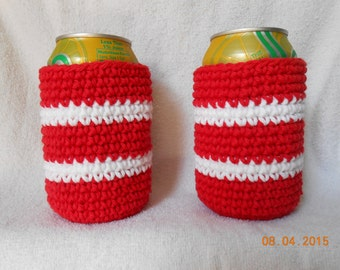 SALE  Crocheted can cozies
