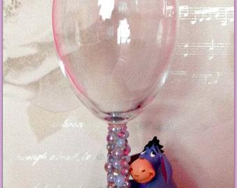 Disney Eeyore Wine Glass