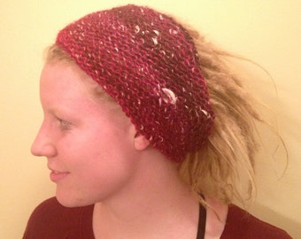 Dreadlock Headband, Dreadlock Accessories, Alpaca wool blend