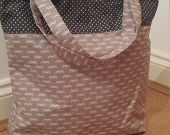 Mustache Shopper Tote bag