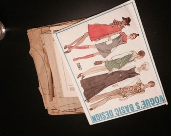 Vogue Basic Design Pattern - 2367 - 1970s