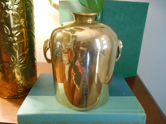 Brass Jug Brass Vase Vintage Brass Brass Home Decor