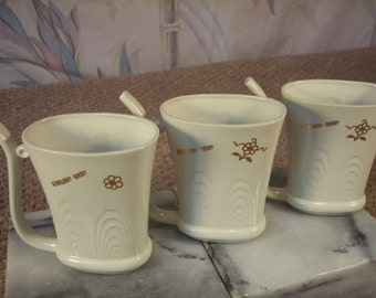 Vintage Czech Porcelain Sipping cups