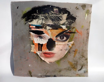 Collage face