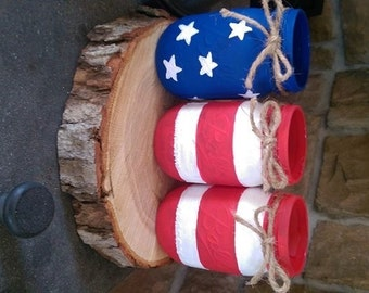 Stars and Stripes Jars