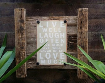 Industrial, rustic wall art