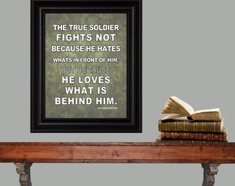 Soldiers Fight
