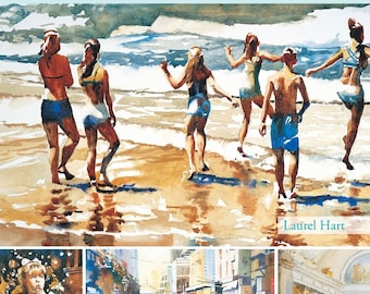 How to Paint Watercolor Book, Putting People in Your Paintings (Book)