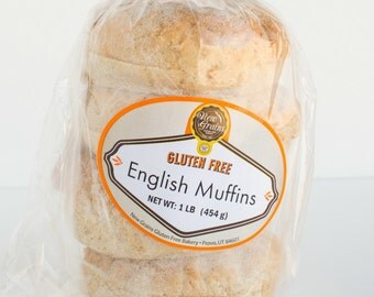 Gluten Free / Vegan Friendly English Muffins