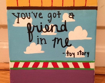 Toy Story Canvas Painting