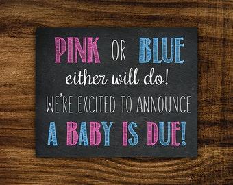 Brenna - Printable Pregnancy Announcement