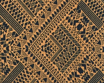 Earth Tribal Print 100% Cotton Jersey