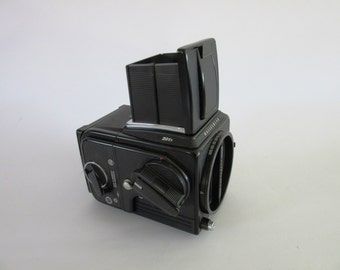 Vintage  Hasselblad 201f  Mint mid format film camera body + back film photography