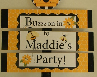 Bumble Bee Yard Sign