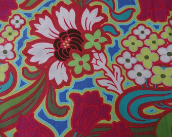 AMY BUTLER ** DISCO Flower from the Soul Blossoms collection  * Boutique Designer Fabric for quilting, sewing, etc.