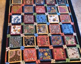 Handmade corduroy quilt | Etsy : corduroy quilts - Adamdwight.com