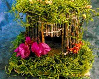 Round Fairy House