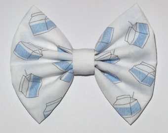 Milk Carton Hair Bow