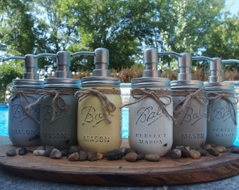 Ball Mason Jar Soap Dispensers