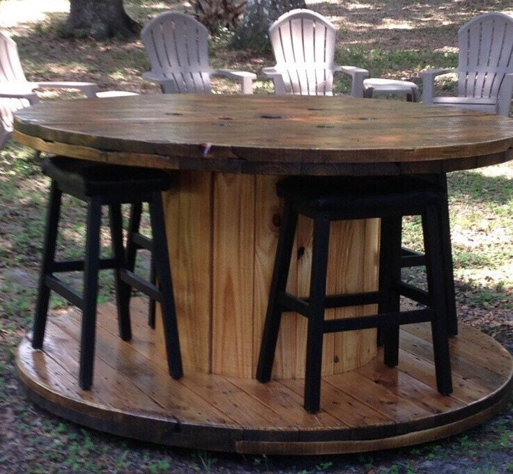 Wire spool table for Wooden wire spool ideas