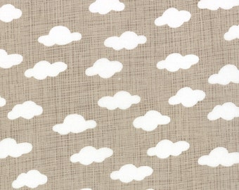 Clouds in stone, BRUSHED cotton, Story Book, Kate and Birdie for Moda 13118 17B