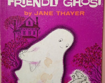 Gus Was a Friendly Ghost, vintage book, 1962