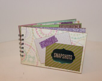 Brag Book scrapbook mini album, 4x7 album
