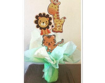 Safari Baby Centerpiece