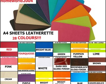 Faux Leather / Leatherette Fire Retardant upholstery fabric / material