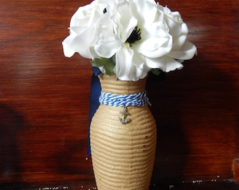 Gold Nautical Vase