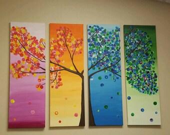 Seasons in trees